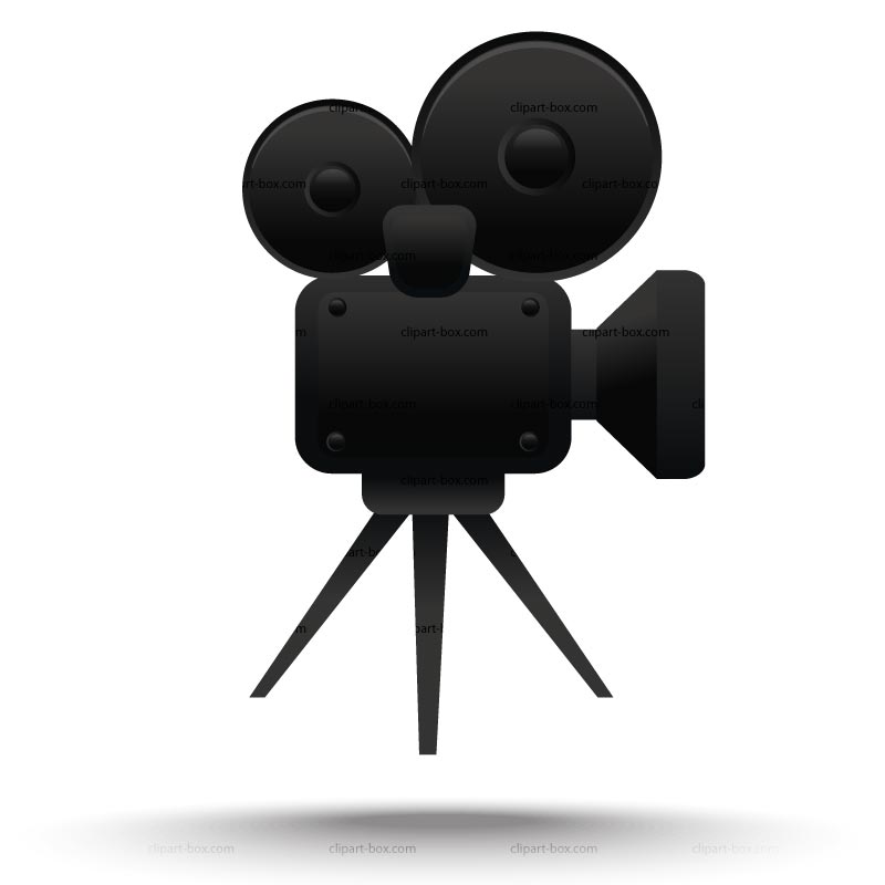 Clipart Cinema Camera   Royalty Free Vector Design