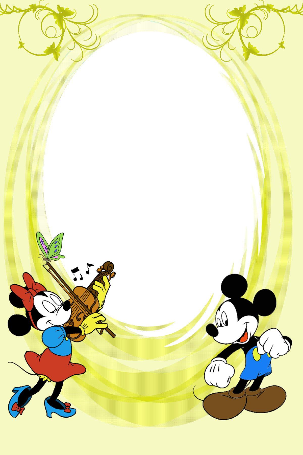 mickey mouse border clip art - photo #32