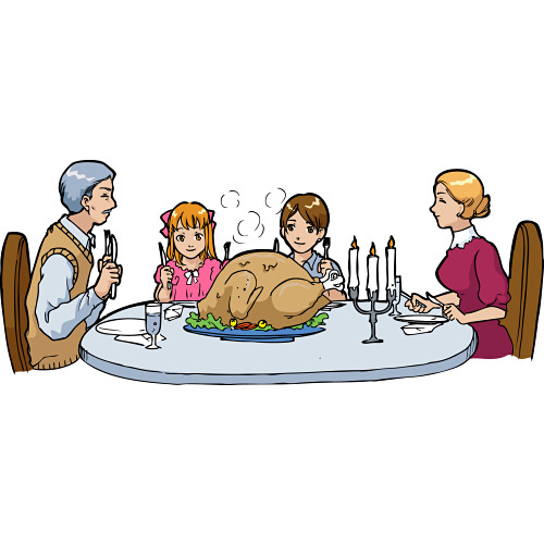 Family Dinner Table Clipart   Clipart Panda   Free Clipart Images