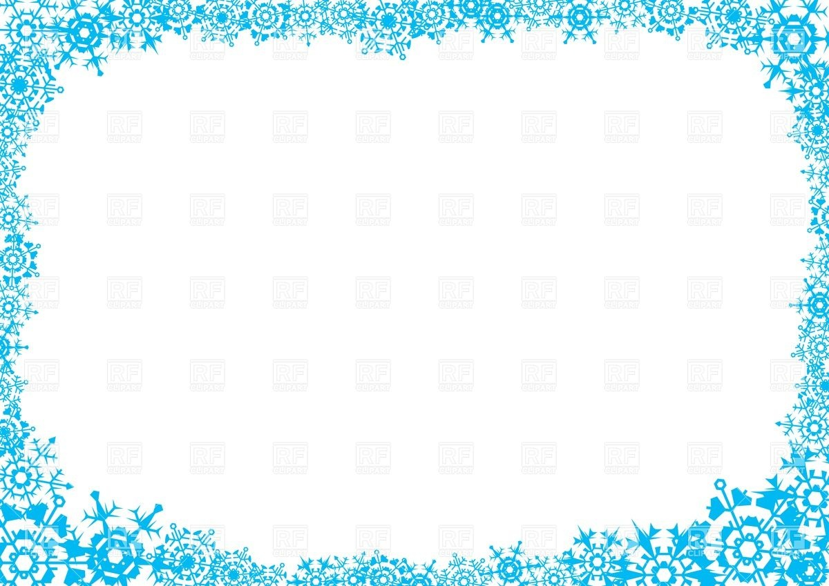 ... -snowflake-clipart-frost-frame-with-snowflakes-iXLRkr-clipart.jpg