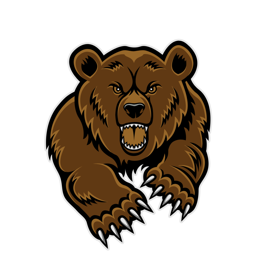 Grizzly Bear Mascot Clipart Clipart Panda Free Clipart Images