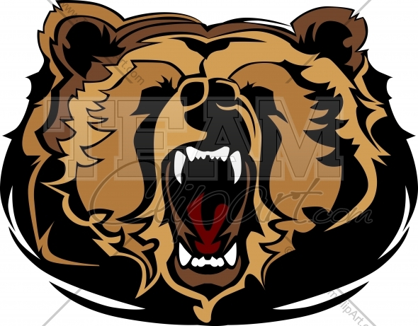 Grizzly Bear Clipart - Clipart Kid