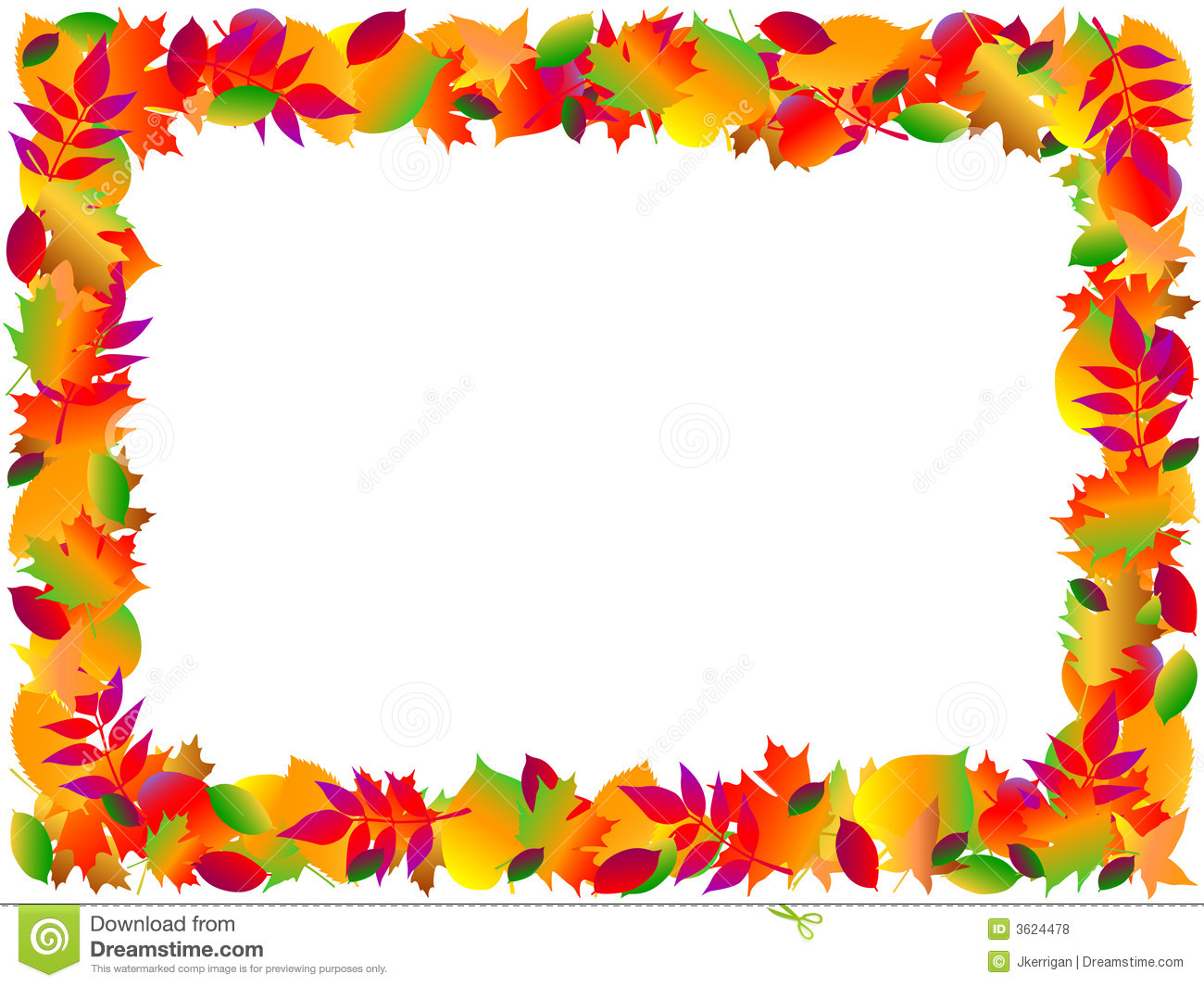 Fall Harvest Border Clipart - Clipart Kid