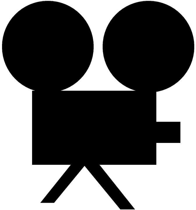 Movie Camera Clipart - Clipart Kid