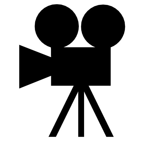 People Who Have Use This Clip Art  10804 Movie Camera48 Has Applied