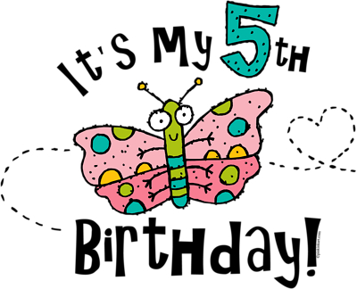 Pin Happy 5th Birthday 4 Clipart Clip Art On Pinterest