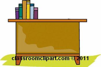 Teacher Desk Clipart - Clipart Kid