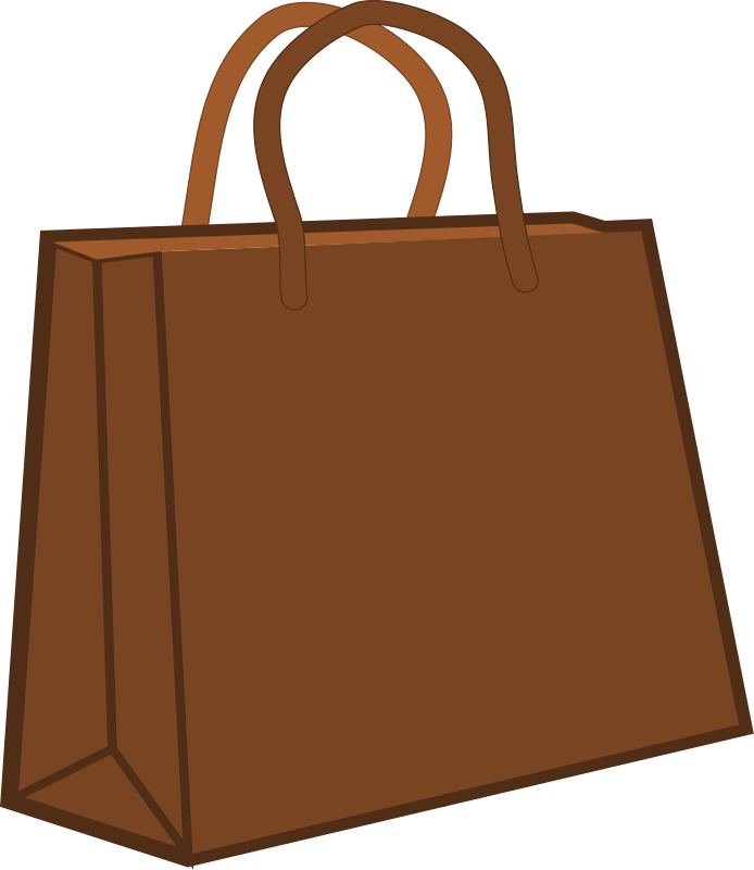 Shopping Bag Clip Art   Images   Free For Commercial Use
