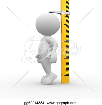 Short Person Next To Tall Person Clip Art Clipart   3d People   Man