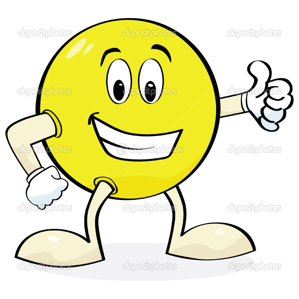 Smiley Face Thumbs Up Cartoon   Clipart Panda   Free Clipart Images