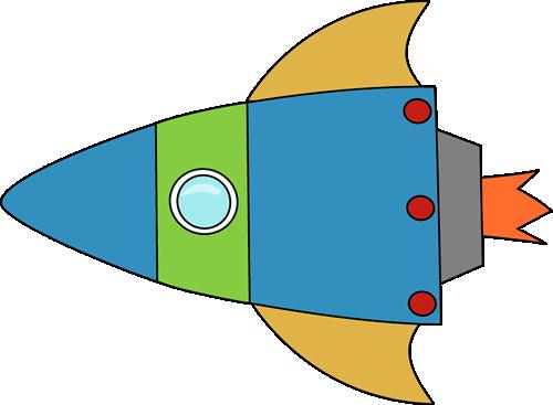 Green Rocket Clipart