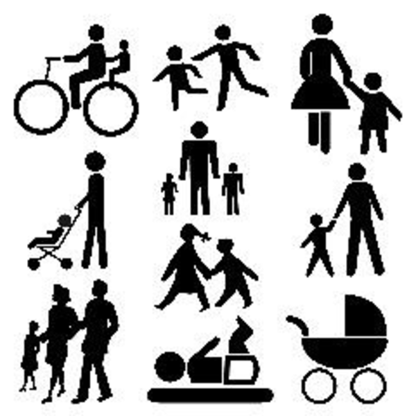 Stick People Family   Free Images At Clker Com   Vector Clip Art