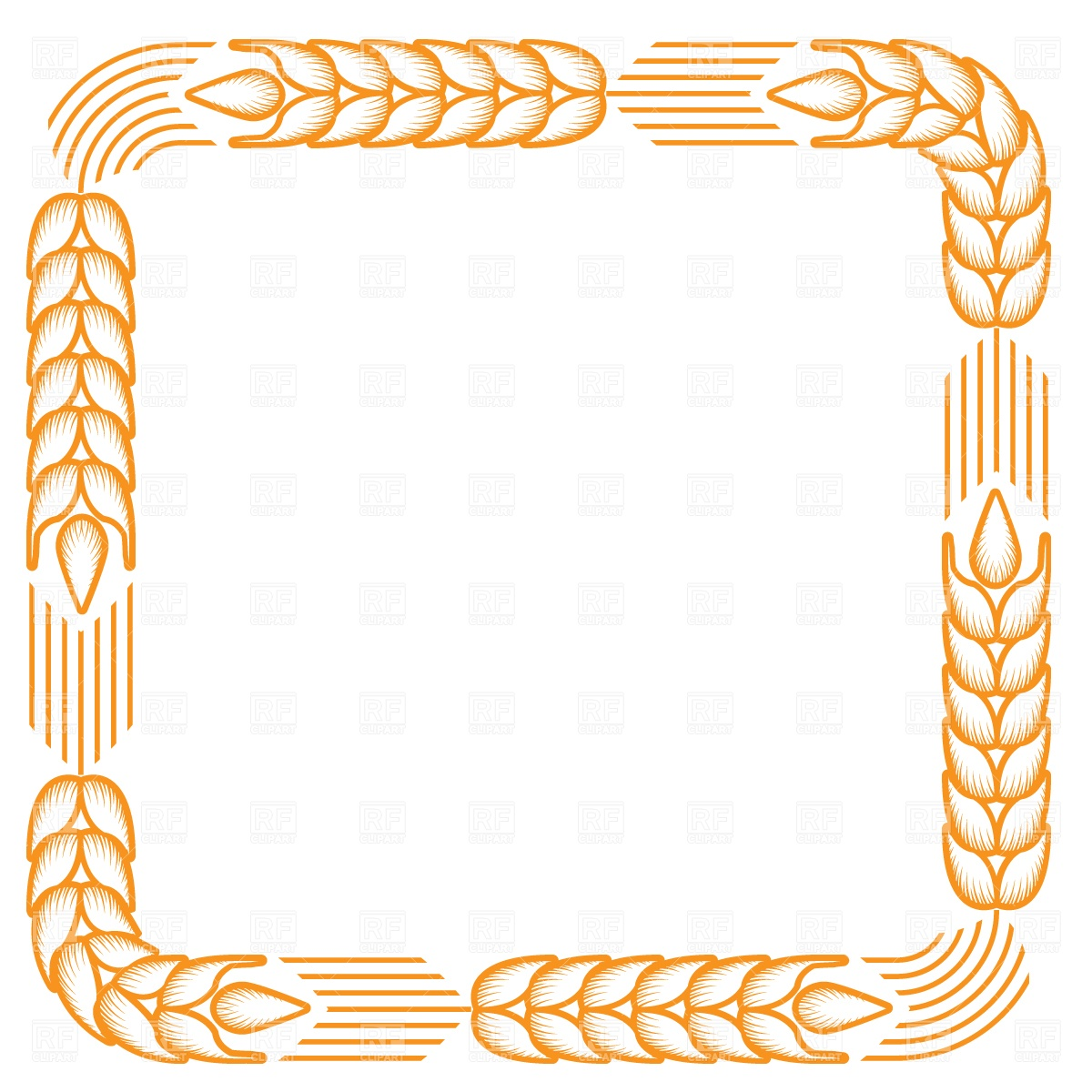 Wheat Border Clipart Images   Pictures   Becuo