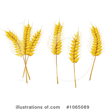 Wheat Clipart  1065089 By Seamartini Graphics   Royalty Free  Rf