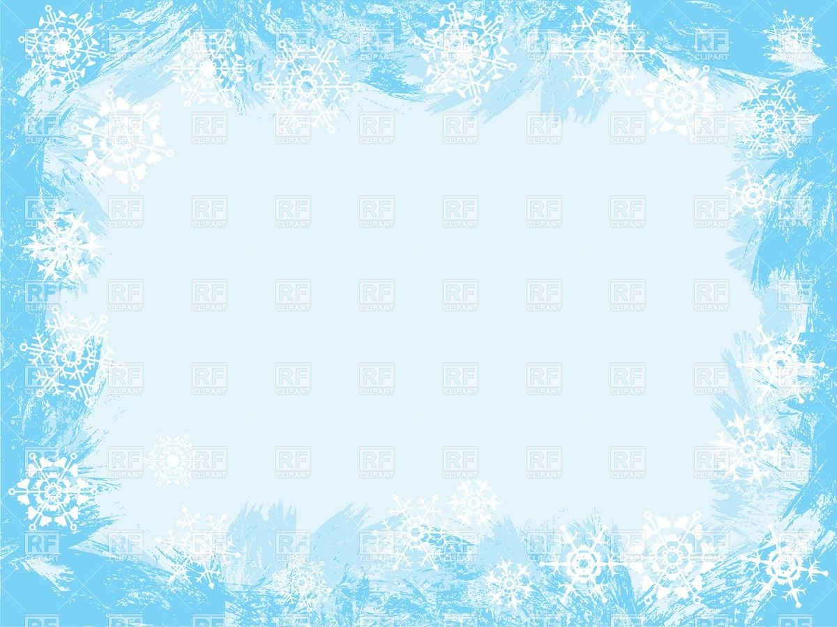 Winter Icy Frame 32876 Borders And Frames Download Royalty Free