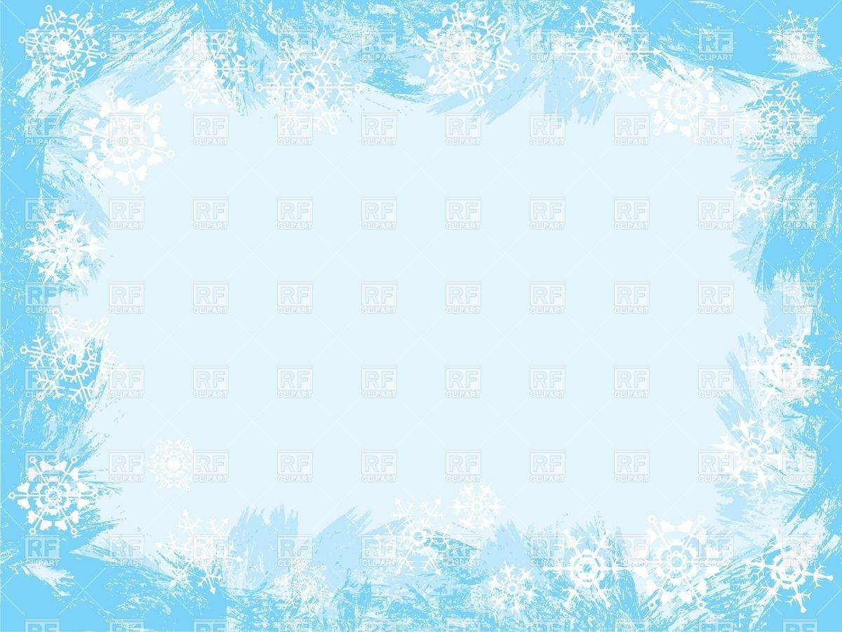 Winter Border Clipart - Clipart Kid