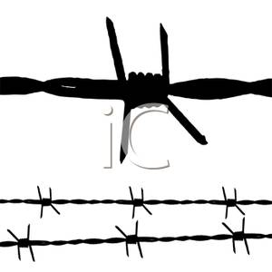 Clip Art Barbed Wire Clipart barbed wire fence clipart kid clipart