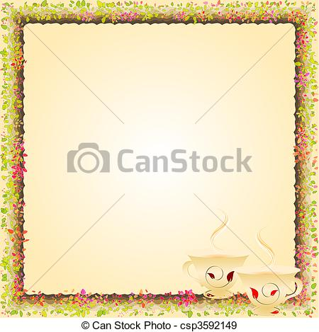 Tea Party Borders Clipart Clipart Kid – Afternoon Tea Party Invitation