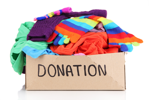 Clothing Donation Clip Art
