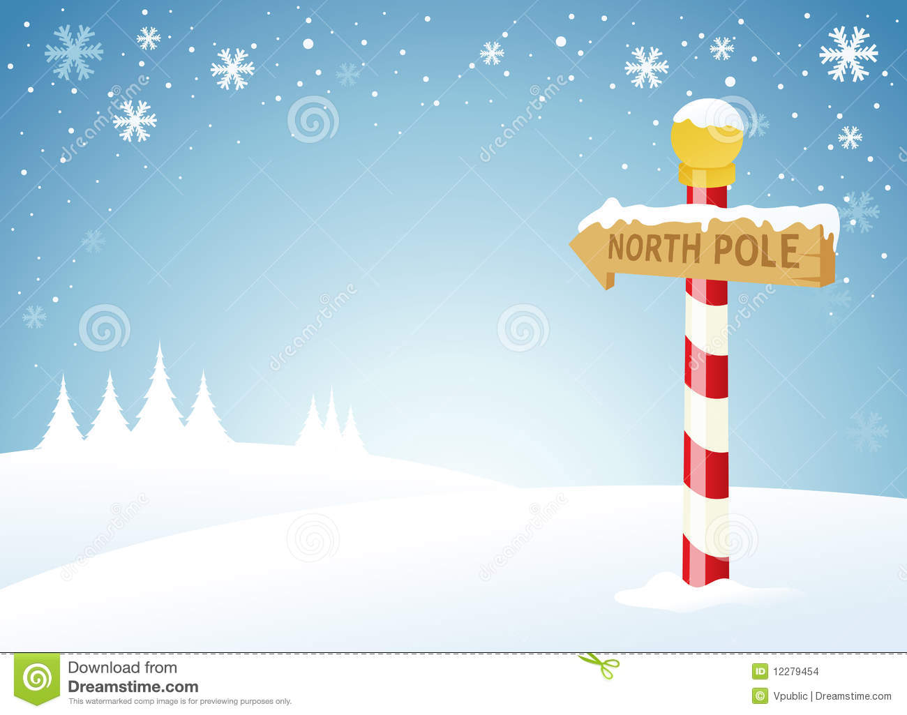 Displaying Images For   North Pole Clip Art