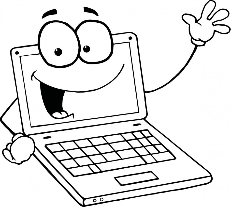 Notebook Computer Clipart - Clipart Kid