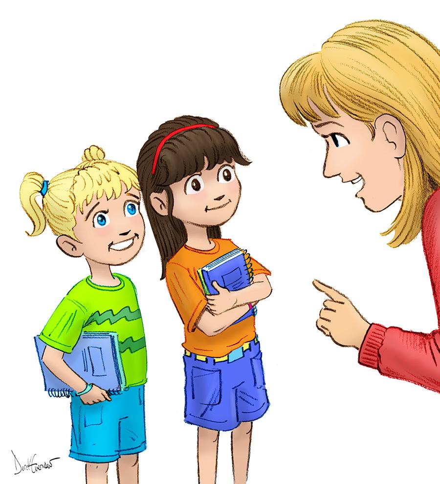 Image Gallery listening teacher clip art