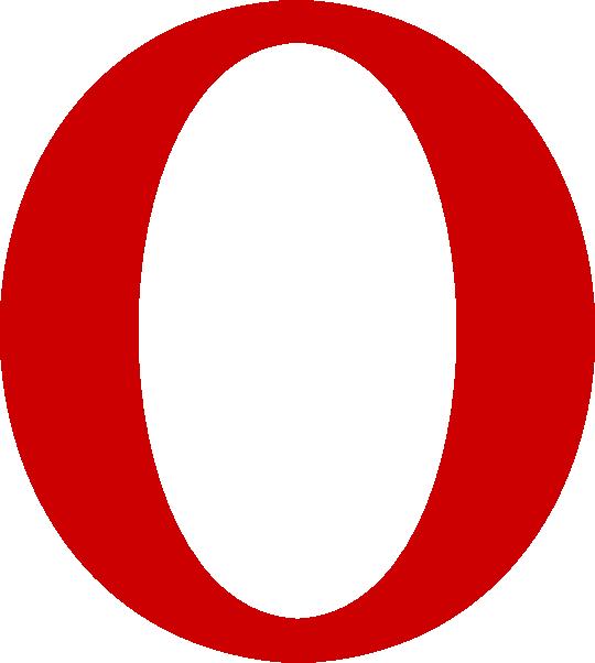Red Serif O Letter Clip Art At Clker Com   Vector Clip Art Online