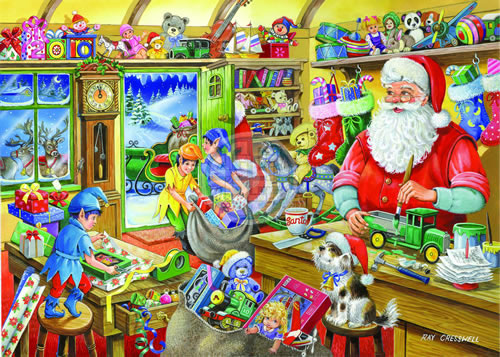 Santa S Workshop Was The Fifth In The Christmas Collectors Edition