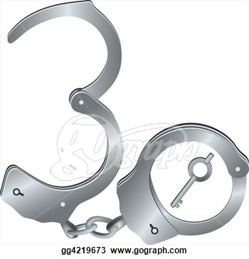 Stock Illustrations   30 Years Of Prison  Stock Clipart Gg4219673