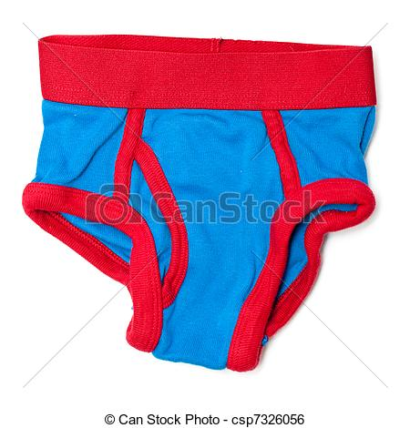 Stock Image Of Boys Underwear   Boys Red And Blue Underwear