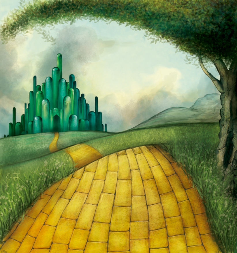 Image result for yellow brick road