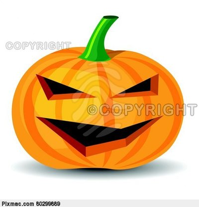Cartoon Halloween Pumpkins