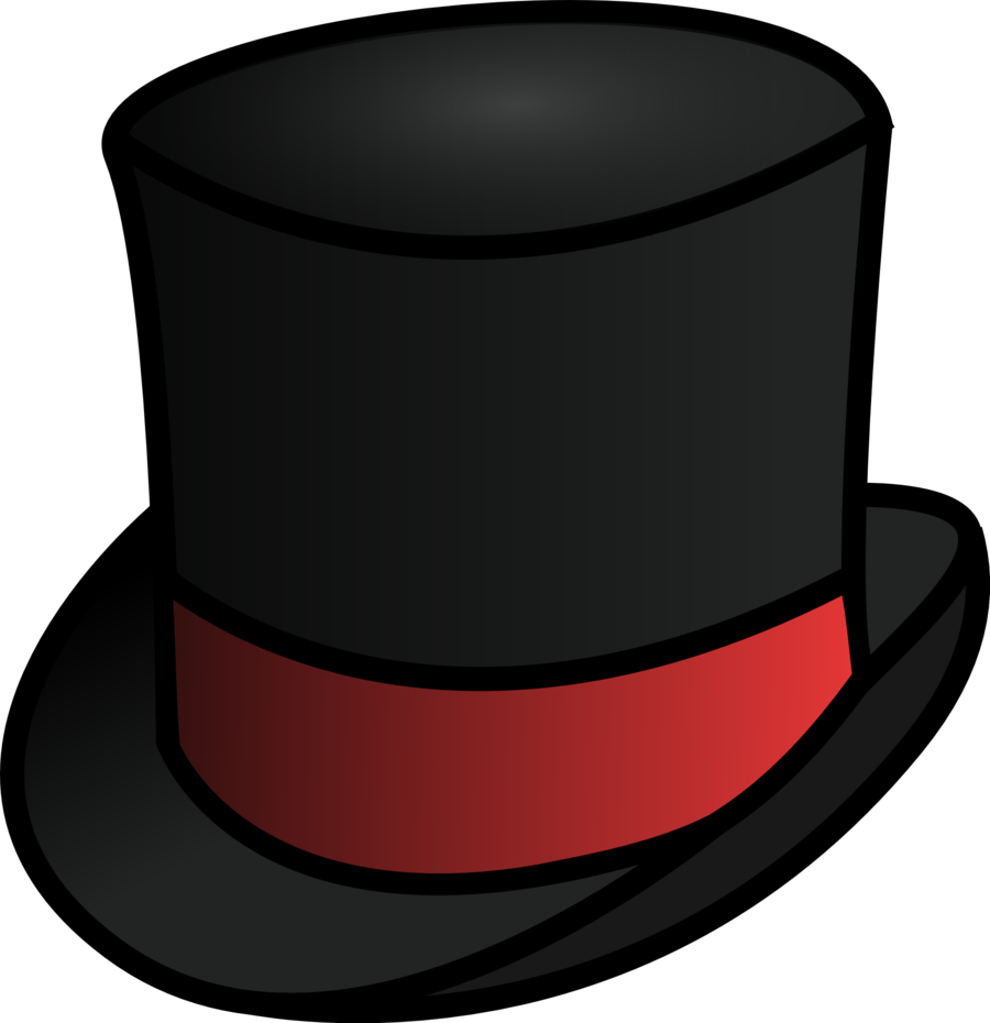 Upside Down Top Hat Clipart - Clipart Kid