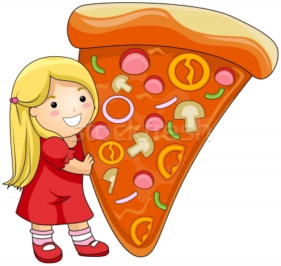 Kids Eating Pizza Kids Eating Pizza Clipart