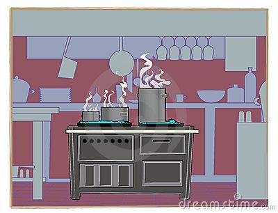 Restaurant cartoon clipart clipart suggest for Cartoon kitchen cabinets