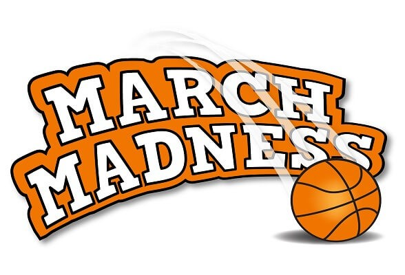 March Madness Basketball Clipart - Clipart Kid