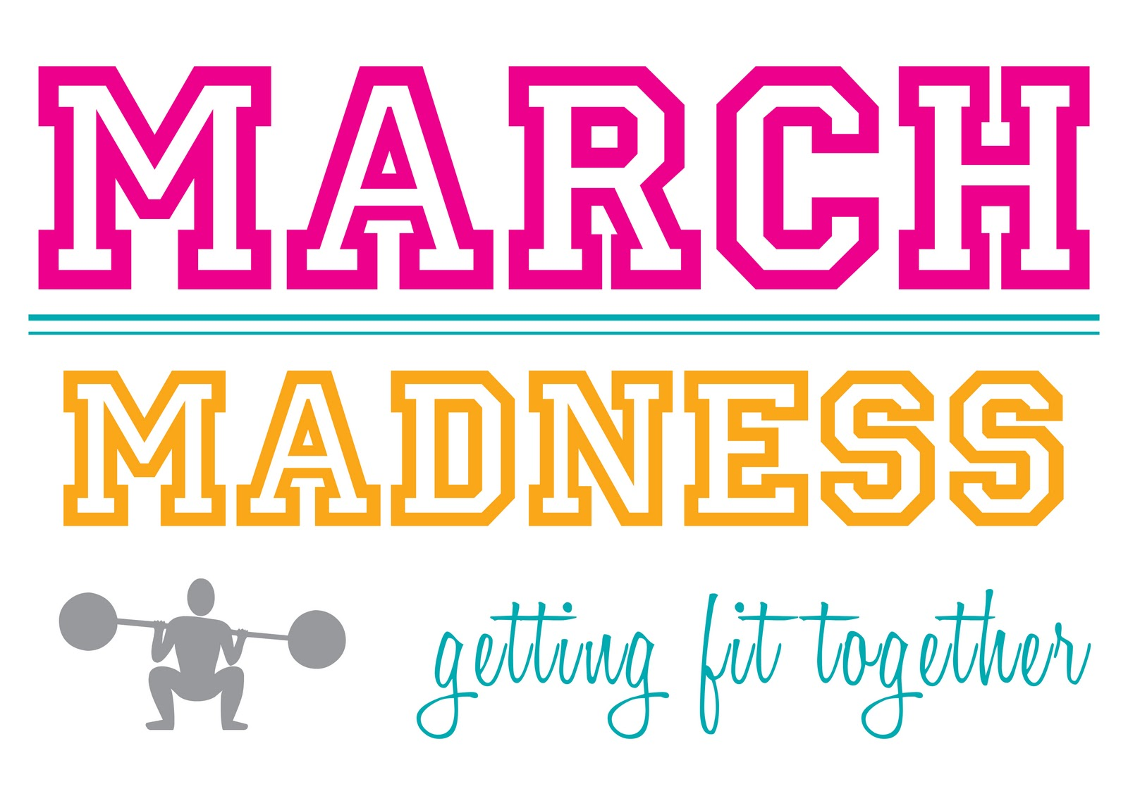 Fit Together Clipart March madness getting fit together - clipart kid