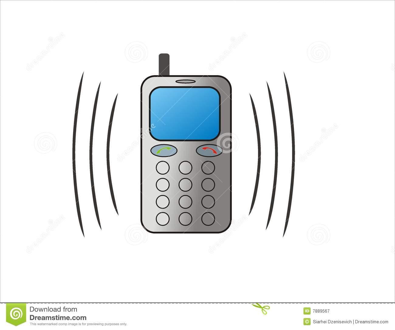 clip art of phone ringing - photo #46