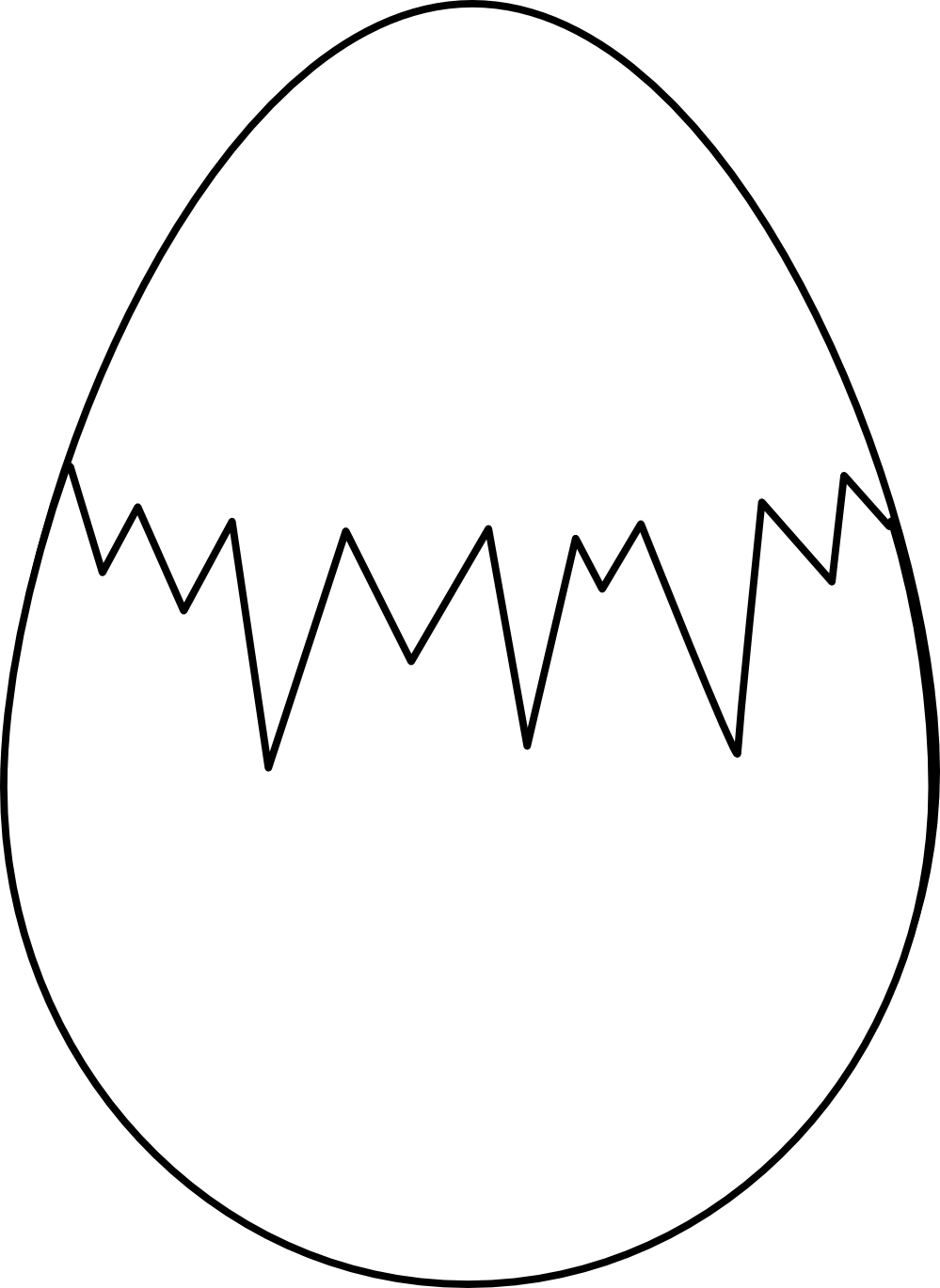 Black And White Of Egg Yolk Clipart - Clipart Suggest