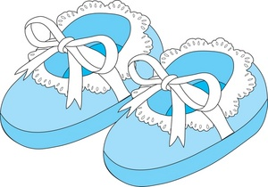 Baby Shoes Clip Art Images Baby Shoes Stock Photos   Clipart Baby
