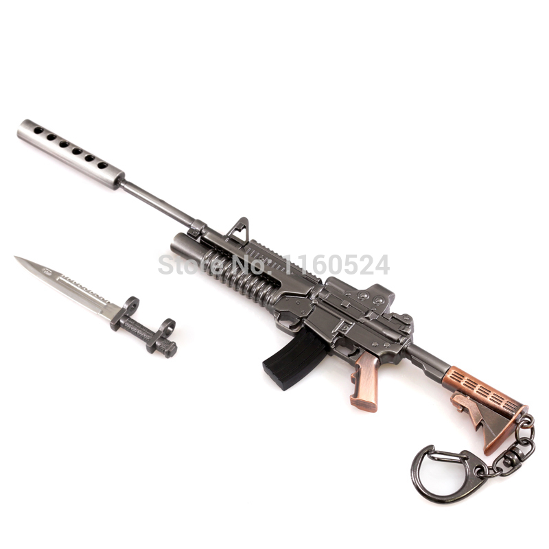 Crossed M4 Rifles Tattoo Design - TattooWoo.com  Crossed Guns M4