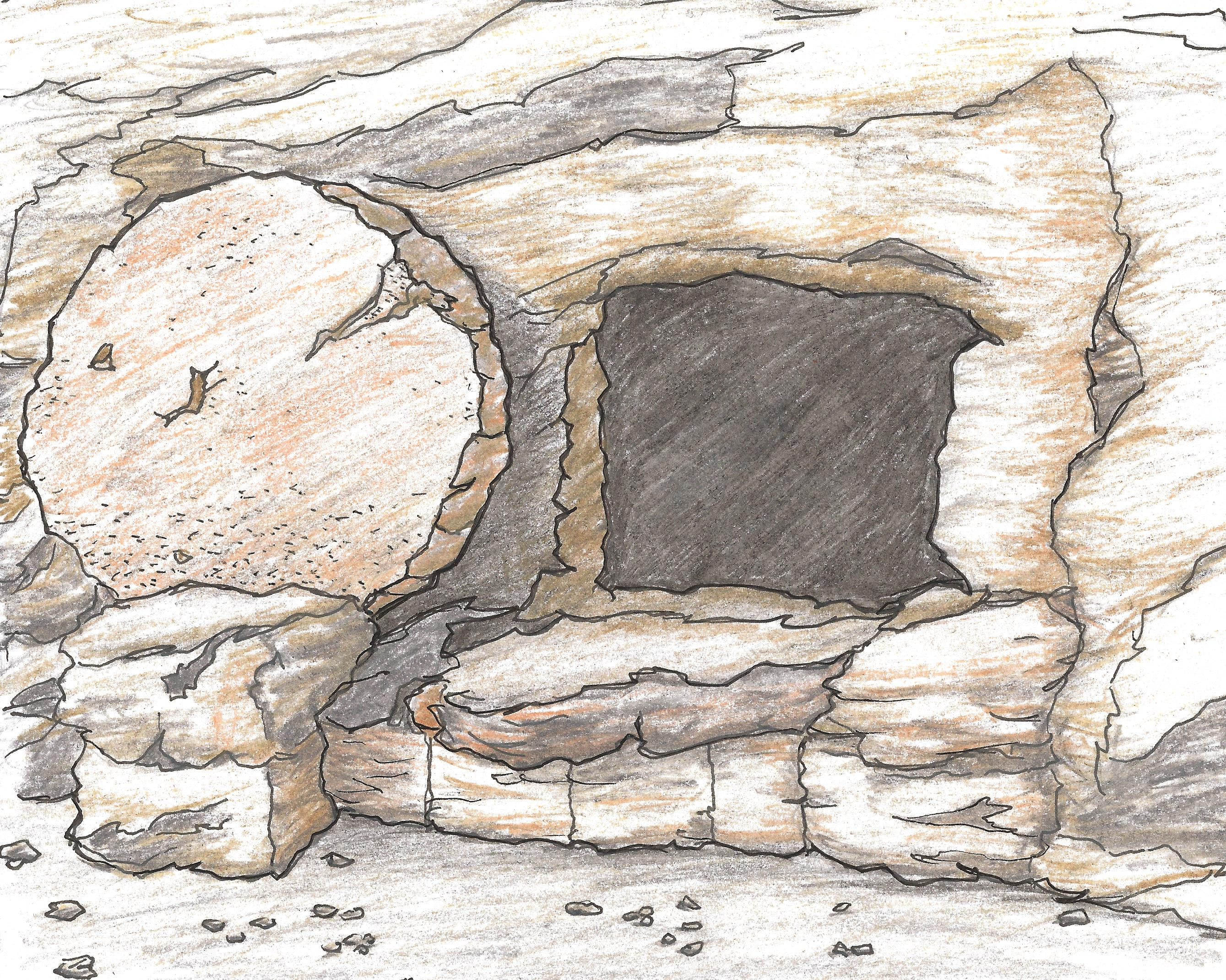 clip art jesus and the tomb - photo #33