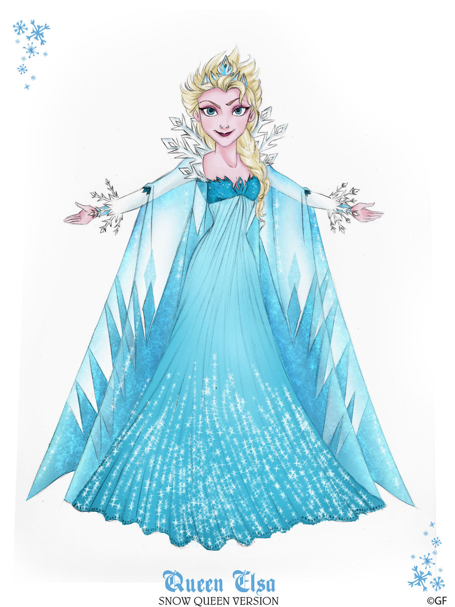 Evil Queen Clip Art Queen Elsa   Snow Queen