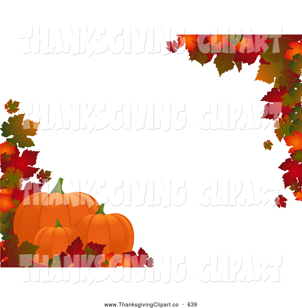 Fall Harvest Border Clipart - Clipart Suggest
