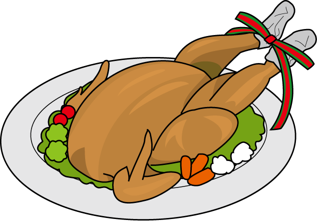 Food Clipart Black And White Roast Clipart Roasted Chicken Clipart Png