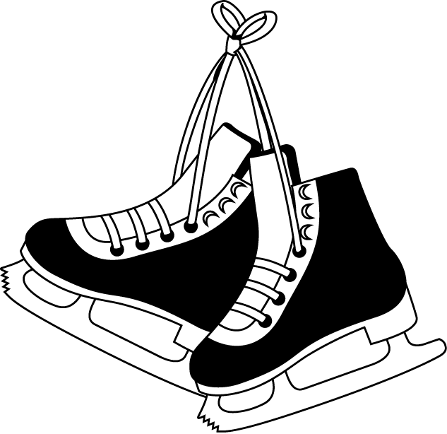 Ice Skating Clip Art