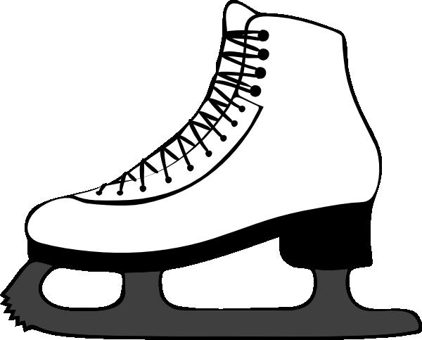 Ice Hockey Skates Clipart