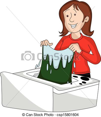 Doing Laundry Clipart - Clipart Suggest