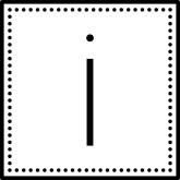 Monogram Letters Black Letters