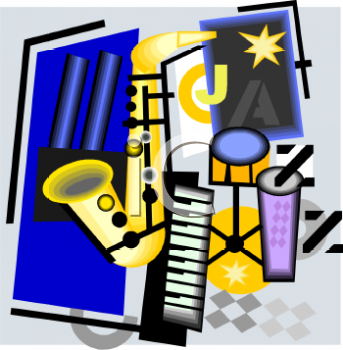Musical Instruments Clipart  Collage Of Musical Instruments